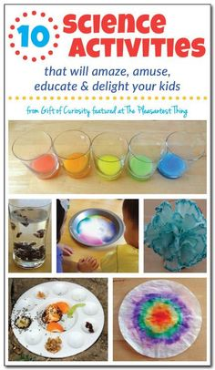 10 fun and educational science activities to do with young kids || Gift of Curiosity