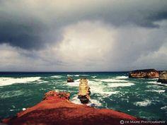 #water #ocean #coast #coastline #storm #greatoceanroad #greatoceanroadtrip #vitoria #melbourne #australia by de.maire.photography