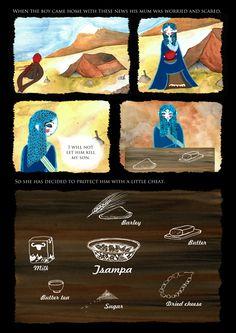 Tibetan fairy tale by Sova Hůová Fairy Tales, Paintings, Illustration, Art, Art Background, Paint, Painting Art, Kunst, Fairytail