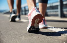 Ready to start walking but aren't sure where to begin? We've got you covered. Walking Program, Brisk Walking, Walking Exercise, Spark People, Heel Pain, Going Natural, Health Logo, Walk This Way, Stay Fit
