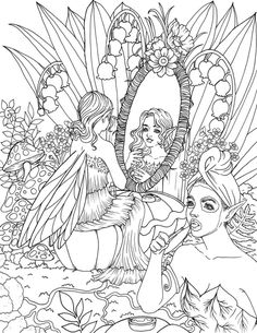 Rose Coloring Pages, Unique Coloring Pages, Coloring Pages For Kids, Coloring Books, Colouring, Line Art Vector, Line Artwork, Kids Story Books, Book Of Shadows