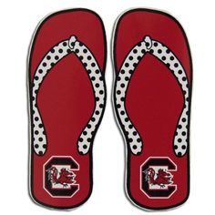 Gamecock flip flops | The Peahuff Times