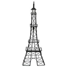 The Eiffel Tower Metal Wall Decor will match a couple other french things