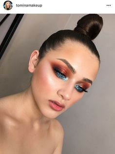 The only eye makeup that I want for a party – Miladiesnet - Makeup Trends 2019 Sommer Make-up Looks, Sommer Make Up, Glam Makeup, Love Makeup, Hair Makeup, Party Makeup, Amazing Makeup, Costume Makeup, Makeup Goals