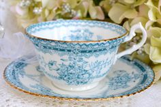 Vintage Radford Fine Bone China Tea Cup and by LaBellaVintage