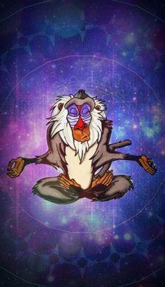 Lion King Rafiki Meditating