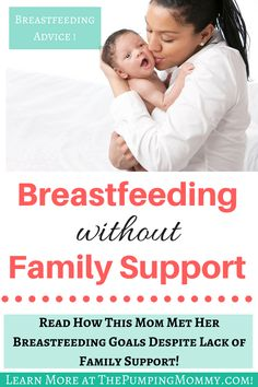 Breastfeeding without family support. Having support from your family will help you breastfeed, bond with your baby, and meet your breastfeeding goals. Breastfeeding Positions, Breastfeeding And Pumping, Breastfeeding Problems, Breastfeeding Support, How To Breastfeed Newborns, Pumping At Work, Breastfeeding Accessories, Family Support, Babies First Year