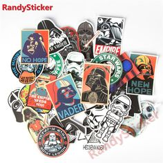 25 kinds Star War waterproof sticker