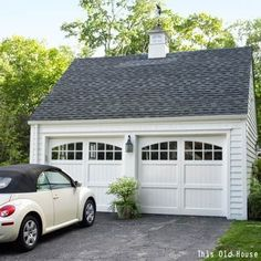 Craftsman style garage doors garage doors and real for Coach house garage prices