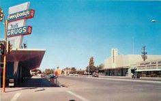 An old post card - Everybody's Drug.   Mesa, Arizona