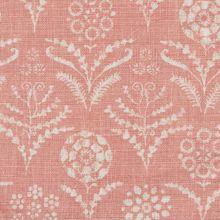 Paradeiza Guava linen fabric from Lisa Fine Textiles Textile Patterns, Textile Design, Color Patterns, Fabric Design, Pattern Design, Print Patterns, Retro Pattern, Print Design, Pink Fabric