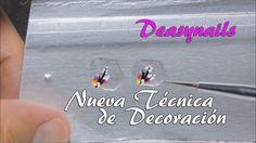 Nueva técnica brik de leche - decoracion uñas acrilicas Deasynails