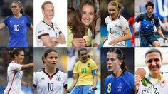Premios FIFA The Best: Canditas a mejor jugadora de fútbol femenino de 2016