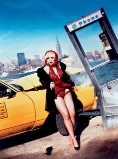 David LaChapelle - Debbie Harry, Hoboken, New Jersey, 1993.