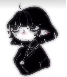 Cute Anime Pics, Cute Anime Couples, Kawaii Goth, Kawaii Anime, Emo Cartoons, Creative Profile Picture, Emo Art, Picture Icon, Gothic Anime