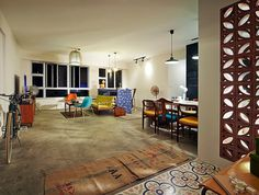 http://www.renotalk.com/forum/topic/61424-blast-from-the-past/  absolutely love the feel of this home. Super loft. Love the wall. and the peranakan tiles