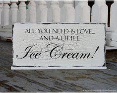 wedding ice cream bars