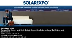 SolarExpo 2013 Renewable Energy and Distributed Generation International Exhibition and Conference 밀라노 태양에너지 박람회