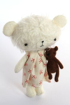 Image of Mini teddy set: Kiki