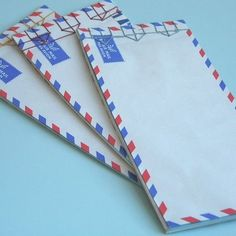 air mail notebook