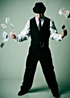 More than a card magician. (photo by Envy Photographics)
