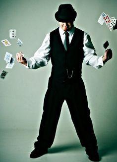 The Mayor of HeidiTown freakin' loves #magic!  @Dan Jaspersen  @Magician@Play
