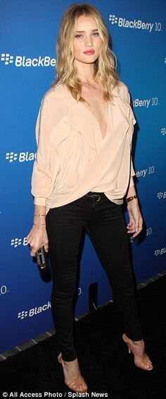 Rosie Huntington-Whiteley @ Blackberry launch party