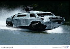 Gibbs amphibious assault vehicle