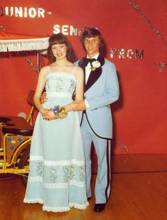 I went to the prom in 1970 with my high school sweetheart, whom I later married.  We have been married now for 42 years!