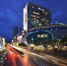 MBK Shopping center in Bangkok, Siam