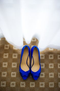 Zapatos bastante azules Fotografía por emilieiggiotti.com