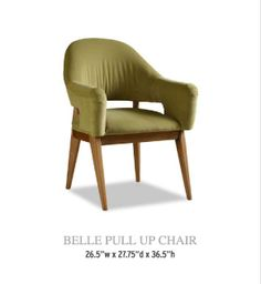 Belle Pull Up Chair