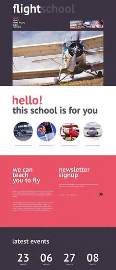 Template 50454 - Alumni Association Responsive Website Template ...