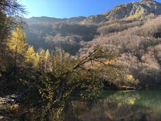 Colours of the Appennini mountains (Italy) in the fall - best time to travel there