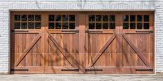 Wood garage doors by Garage doors 4 Less. Garage Door Springs, Wood Garage Doors, Garage Door Spring Repair, Canoga Park, San Fernando Valley, Wooden Garage Doors