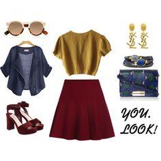 Designer Clothes, Shoes & Bags for Women Schumacher, Personal Branding, Miu Miu, Yves Saint Laurent, Outfit Ideas, Ootd, Fashion Outfits, Shoe Bag, Polyvore