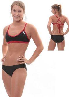modest womens bikini | Rox Modest Bikini bottom is a fuller coverage bottom for the Junior ...