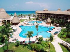 The Catalonia Riviera Maya (all-inclusive resort) in Puerto Aventuras hours drive south of Cancun) Riviera Maya, Mayan Riviera Mexico, Dream Vacation Spots, Vacation Resorts, Vacation Trips, Dream Vacations, Vacation Ideas, Vacation Rentals, Mexico Resorts