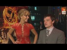 VIDEO: Awesome interview from The Hunger Games premiere in Berlin....Josh Hutcherson talks about winning a girls heart and Jen gives her commentary. This is my last post for today! I'm off to go see the movie :)
