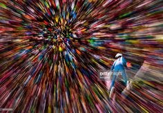 Nicholas Fairall of the USA competes on his first jump on day 6 of the Four Hills Tournament Ski Jumping event at Bergisel-Schanze on January 4, 2015 in Innsbruck, Austria. | #AlexanderHassenstein #Bongarts #GettyImages #photography #ski