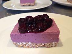 Raw Fermented Blueberry Cheesecake — Ooosha