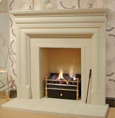 cast stone fireplace - Google Search