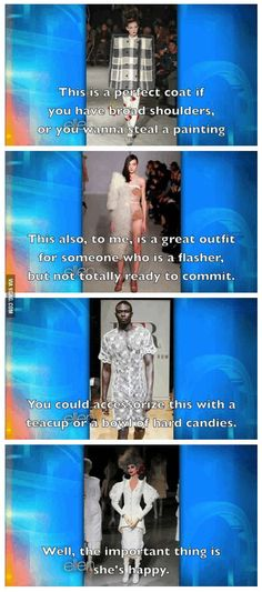 Ellen with the latest insight on Fashion Week's trendiest new designs.