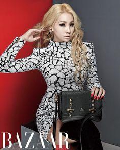 CL- Harper's Bazaar KoreaMagazine October Issue '14