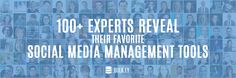 100+ Experts Reveal Their Fav Social Media Management Tools | by Chris Makara http://bulk.ly/social-media-management/ #BIZBoost
