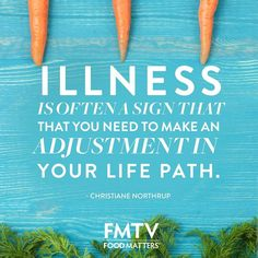 Are there little adjustments in your life you can make for the greater good of your health? www.FMTV.com #FMTV