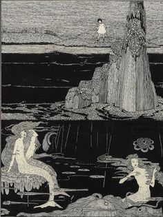 "venusmilk:    Harry Clarke,""The little Mermaid"""