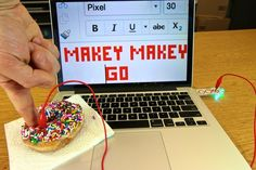 Makey Makey GO kit: awesome, easy STEM kit for kids that lets you turn anything into a mouse or a keyboard. As you can see.