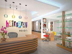 spa interior design concept - Small salon designs, Beauty salon interior and Small salon on ...