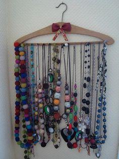 Coat-hanger to Hang Your Jewelry